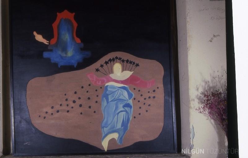 100x100 Tuval üzerine Yağlı Boya 1991