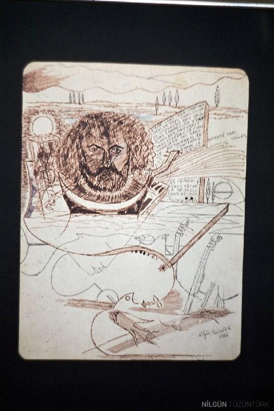 30x20 Kağıt Üzerine Desen 1986