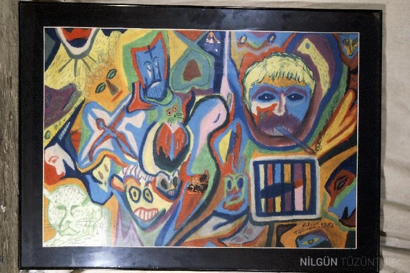 50x70 Tuval Üzerine Yağlıboya 1986