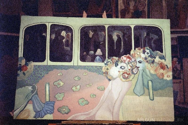 100x150 Tuval Üzerine Yağlıboya 1997