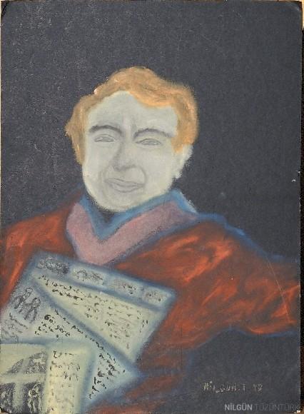 40x30 Kağıt Üzerine Yağlıboya 1997